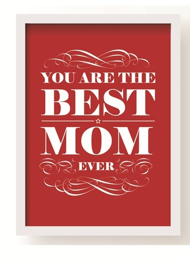Best Mom Poster-All About Wall